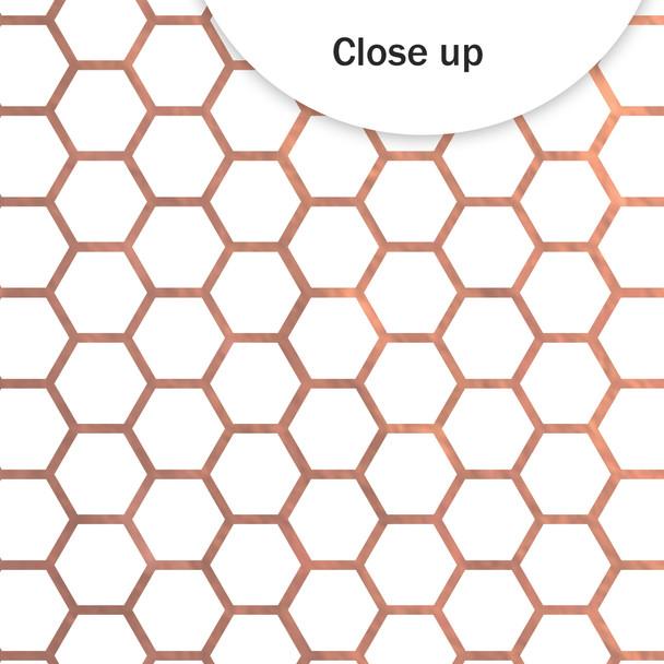 Metallic Paper | Bee Happy 8x8 | Rose Gold