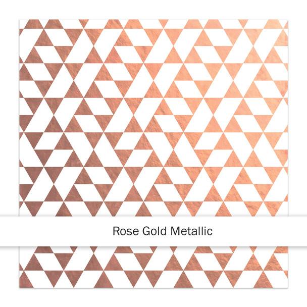 Metallic Paper | La Fresca 8x8 | Rose Gold