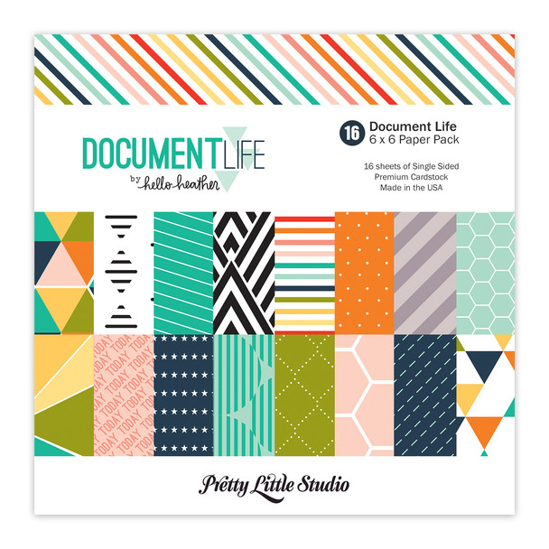 Paper Pack | Document Life 6x6