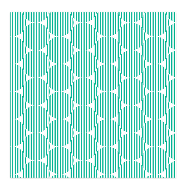 Paper | Rosie 12x12 | Teal (single-sided)