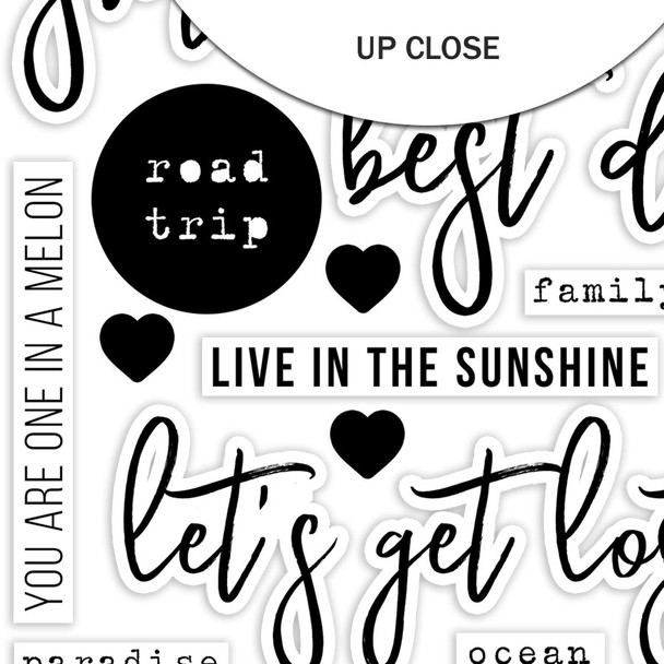 Die-Cuts | Best Days | Black