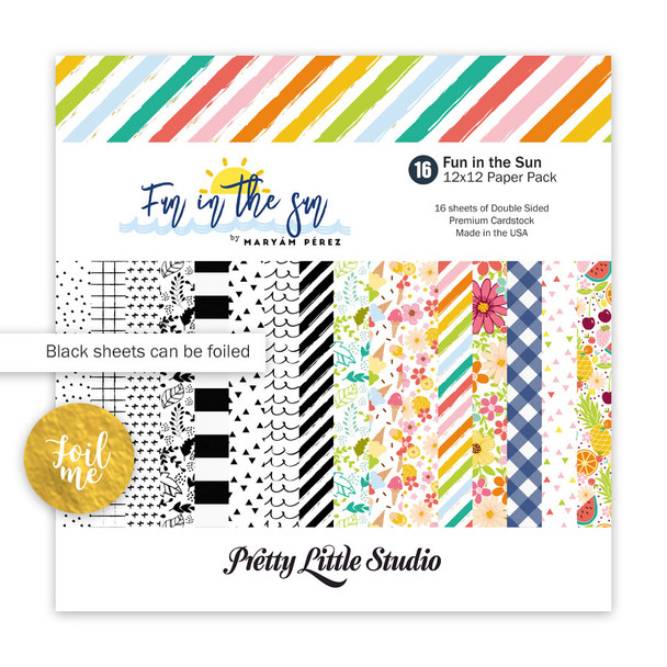 Paper Pack   Fun in the Sun 12x12 (double-sided)