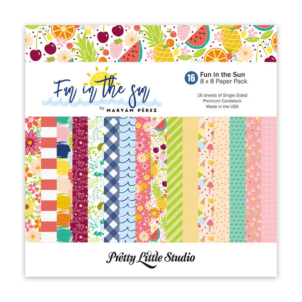 Paper Pack | Fun in the Sun 8x8