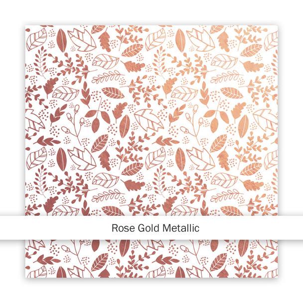 Metallic Paper | Let's Get Lost | Rose Gold