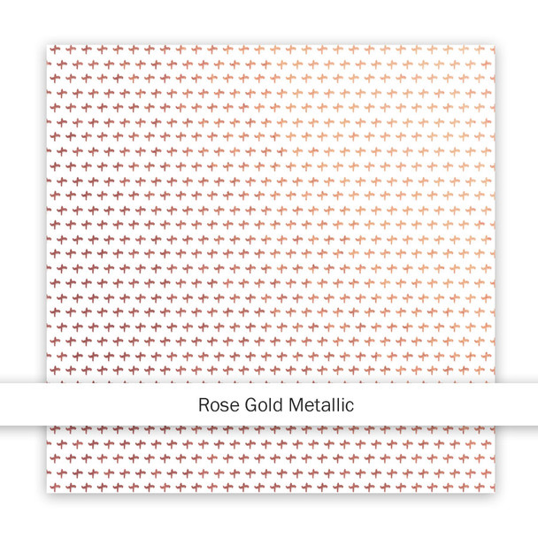 Metallic Clear | More Summer | Rose Gold