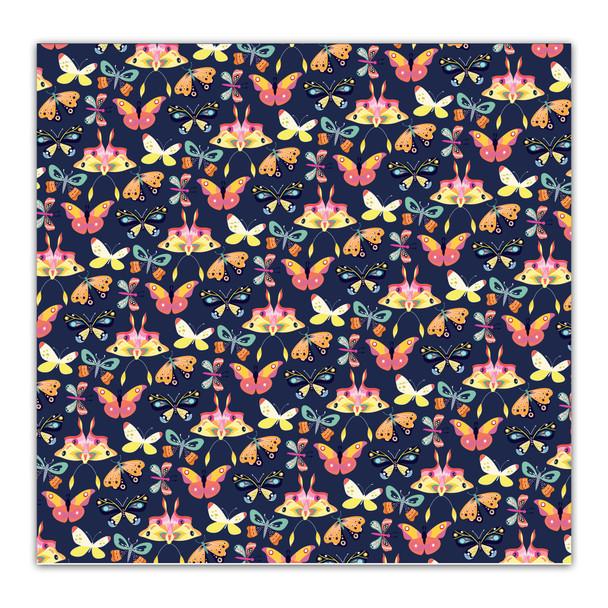 Vellum | Butterfly Wings 8x8