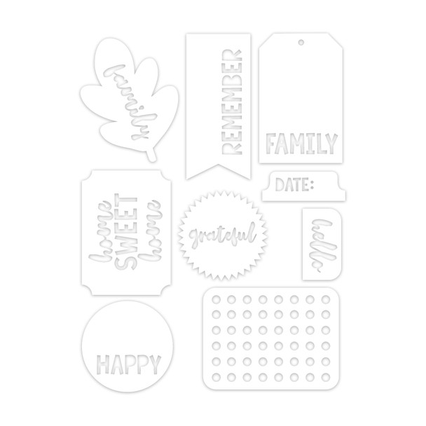 Die-Cuts | Family Tags & Tabs