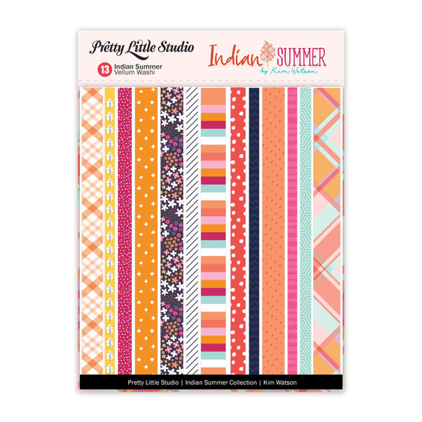 Washi Vellum | Indian Summer