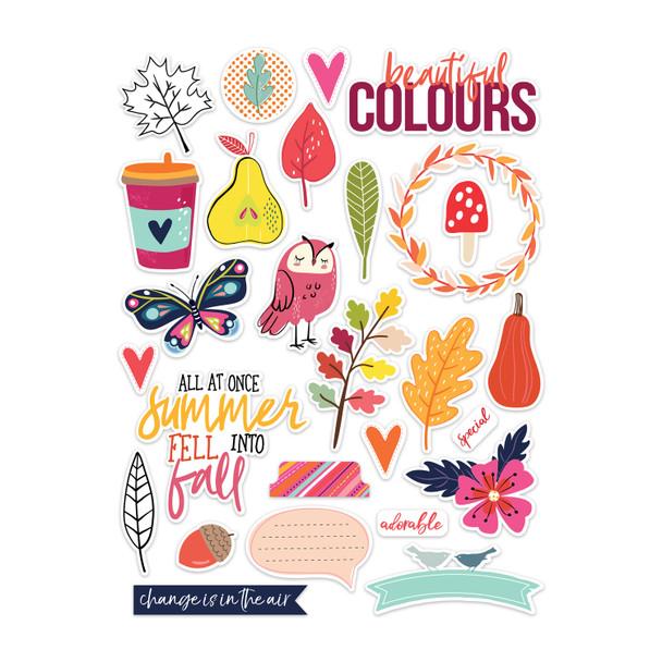 Die-Cuts | Beautiful Colors