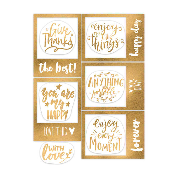 Frames | Give Thanks | Gold
