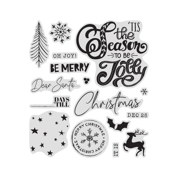 Stamp | Be Merry