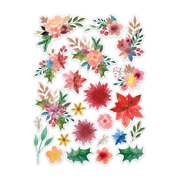 Die-Cuts | Christmas Florals