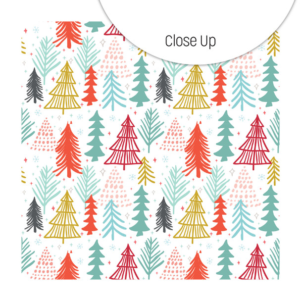 Clear   Oh Christmas Tree 8x8