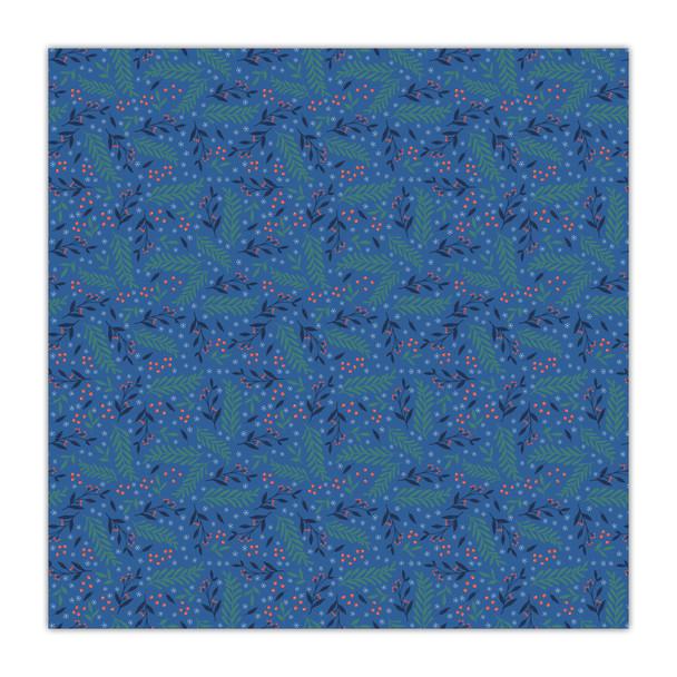 Paper   Deck the Halls   Blue 8x8