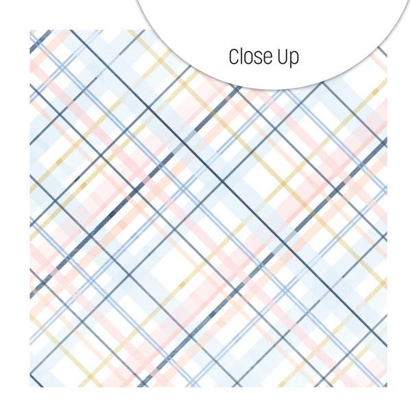 Paper   Plush Plaid 8x8
