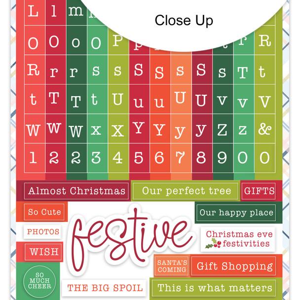 Stickers | Mini ABC | Christmas Shopping