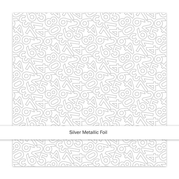 Metallic Clear | Countdown | Silver