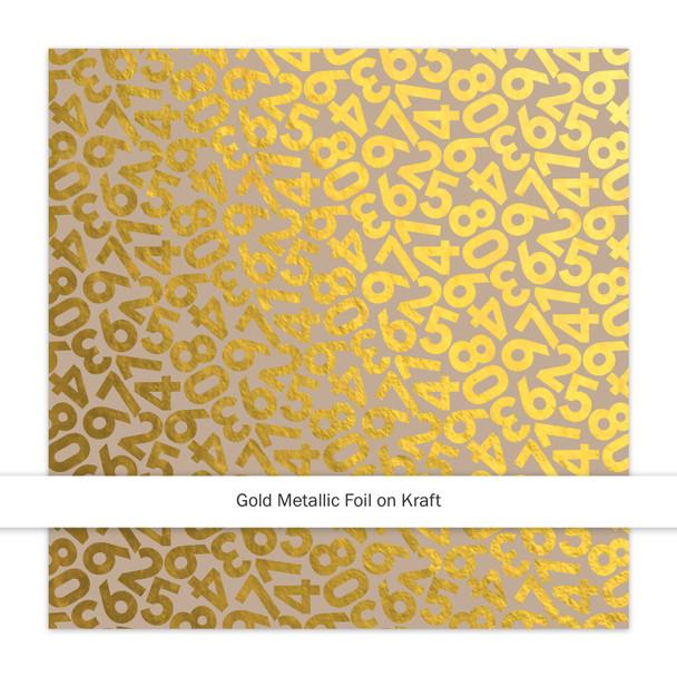 Metallic Kraft | Countdown | Gold