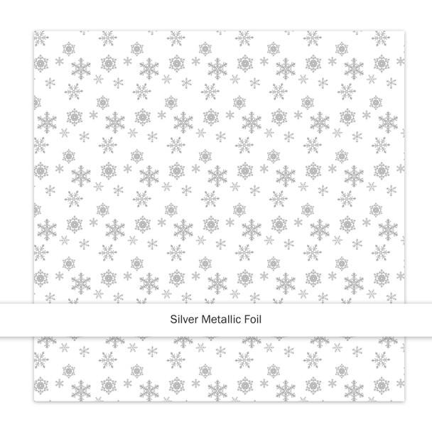 Metallic Paper | Sparkle & Bright | Silver