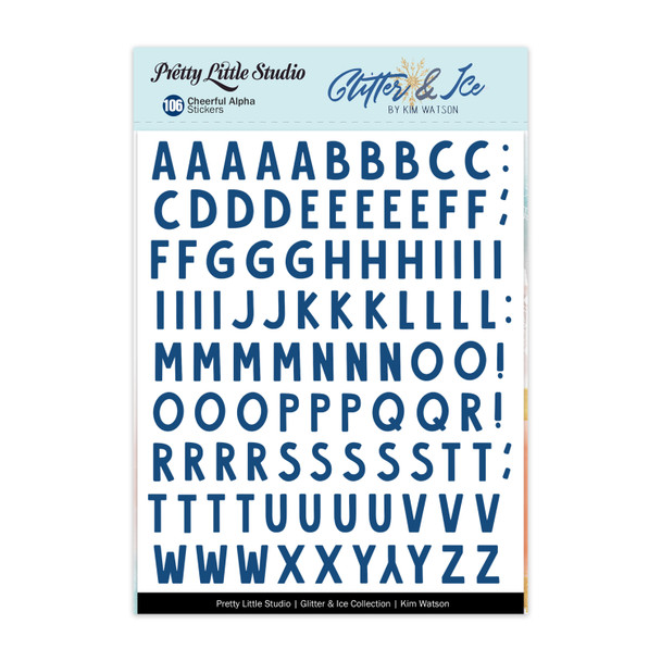 Stickers | Cheerful Alphas | Blue