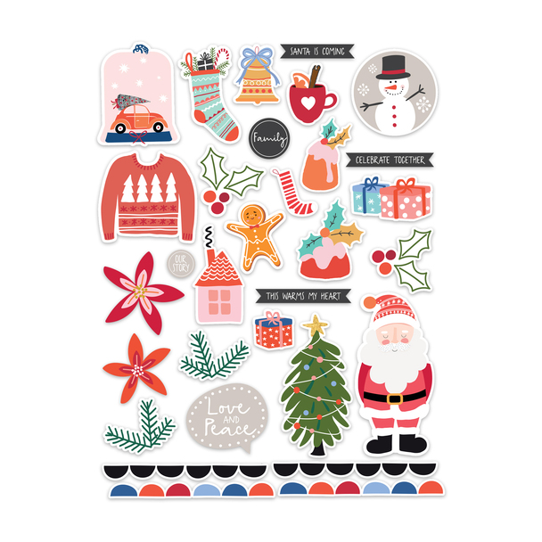 Die-Cuts | Santa is Coming