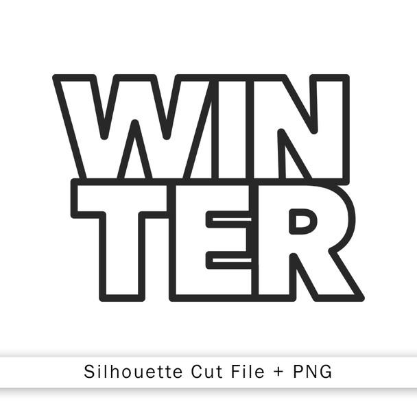 Cut File | Winter