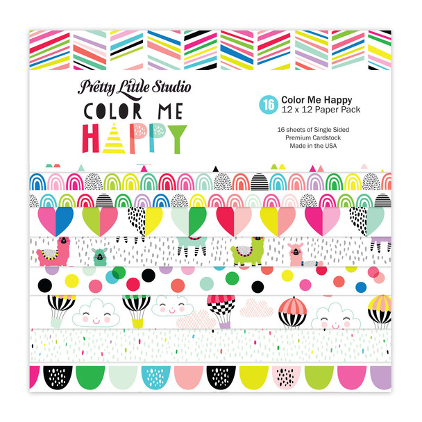Paper Pack   Color Me 12x12 (Single-Sided)