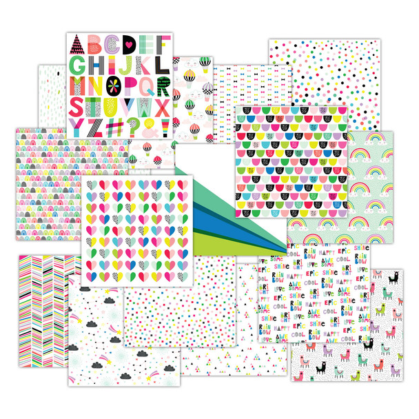 Paper Pack | Color Me 12x12 (Double-Sided)