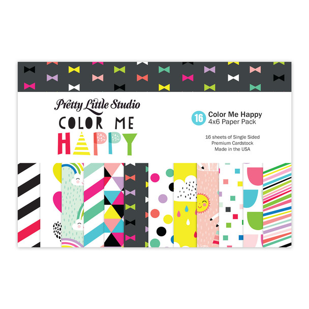 Paper Pack | Color Me 4x6 (Single-Sided)
