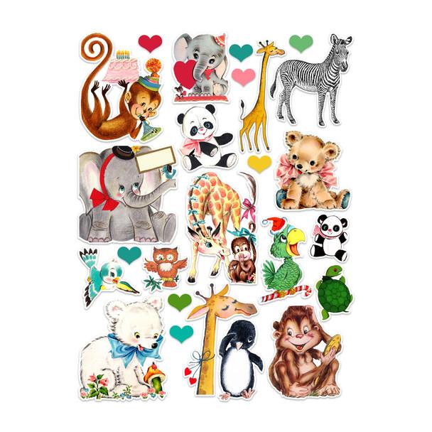 Die-Cuts   Zoo (pack)