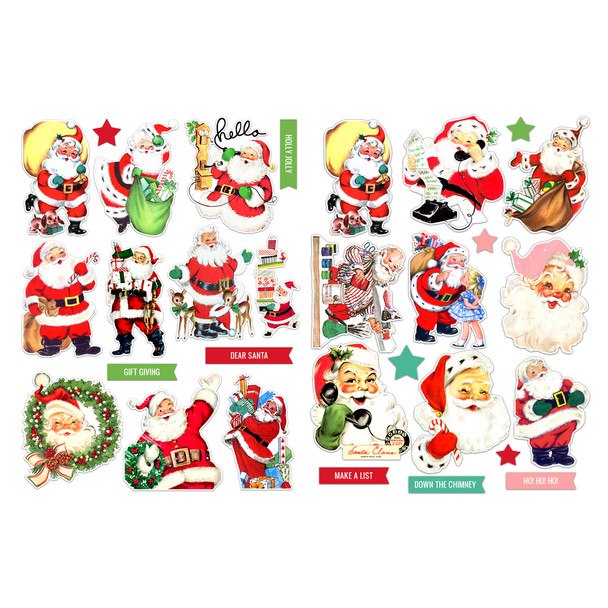 Die-Cuts | Kris Kringle (pack)