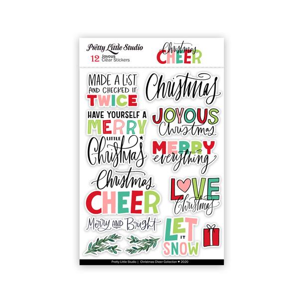 Stickers | Joyous | Clear