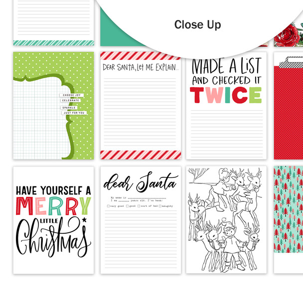 Journaling Cards | Made a List 3x4