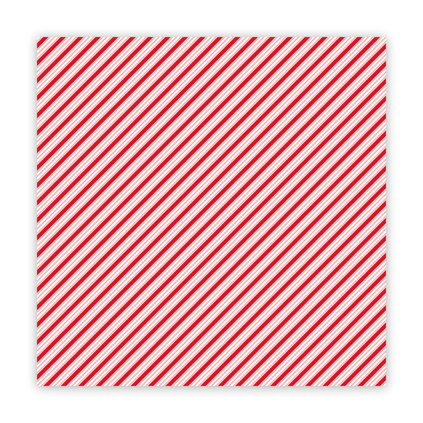 Clear | Stick Candy | Cherry 8x8