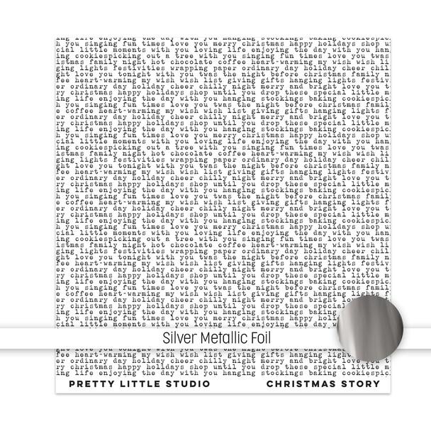Metallic Clear | Christmas Story 8x8