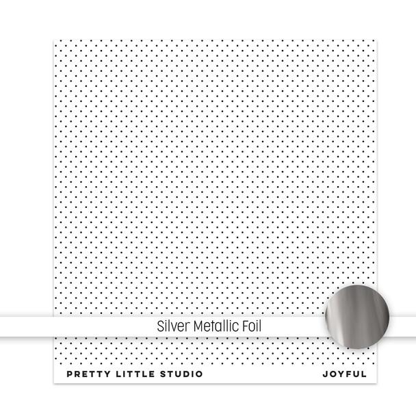 Metallic Clear | Joyful 8x8