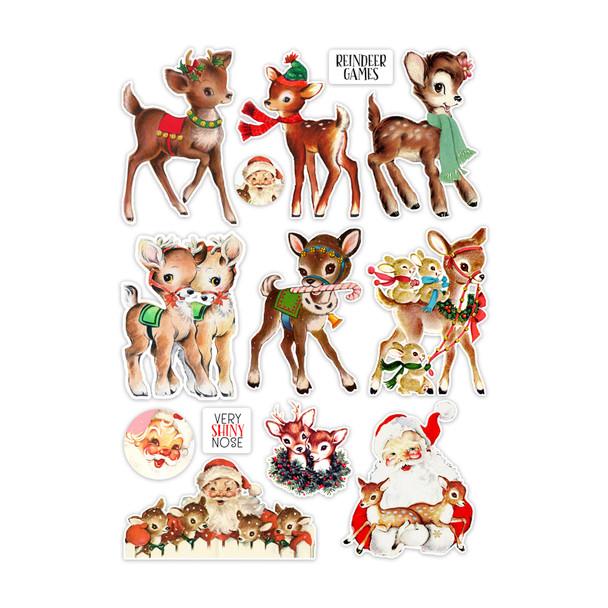 Die-Cuts   Reindeer Games (pack)