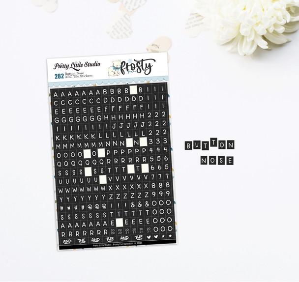 Cardstock Stickers | Mini ABC | Button Nose
