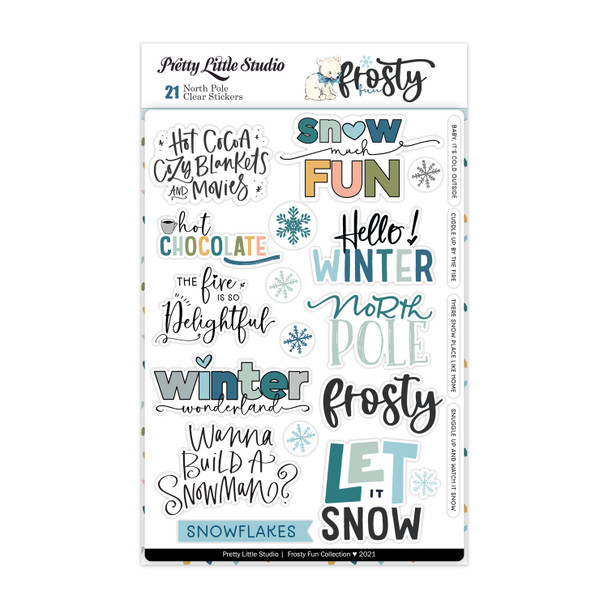 Stickers | North Pole | Clear