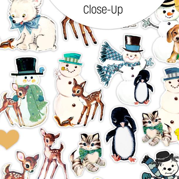Die-cuts | Snow Friends (mini)