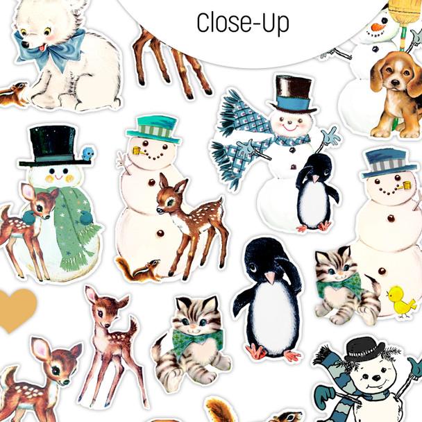 Stickers | Frosty & Friends (vintage)