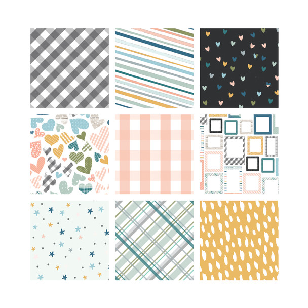 Paper Pack | Frosty 8x8 (single-sided)