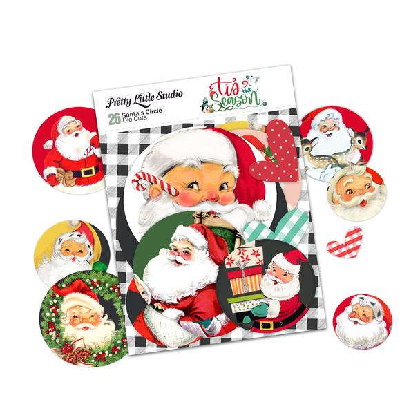 Die-Cuts   Santa's Circle
