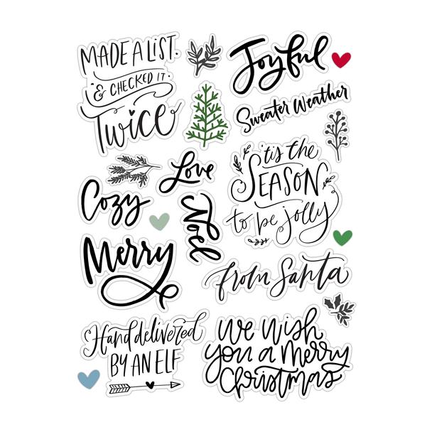 Die-Cuts   From Santa