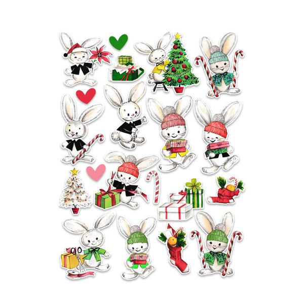 Die-cuts | Bunny Christmas (pack)