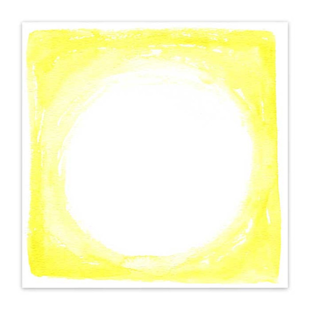 Clear | Yellow Frame 8x8