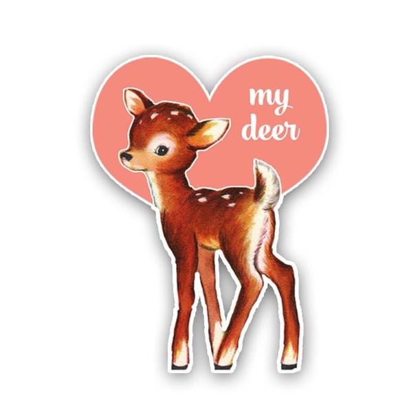 Vintage Die-Cut | My Deer
