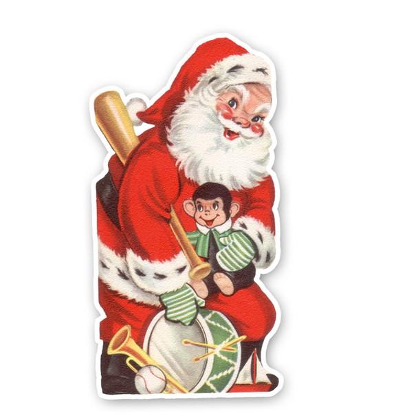 Vintage Diecut | Santa #6