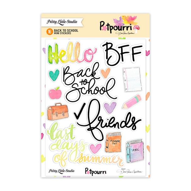 Stickers | Back to School | Mini