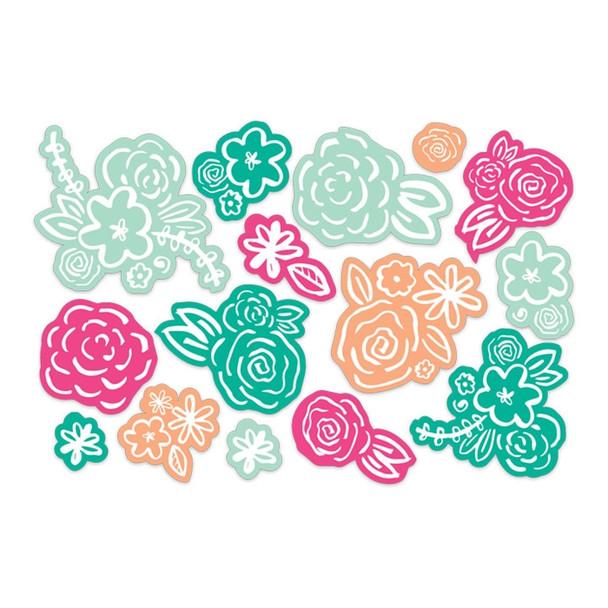Die-Cuts | Color Block Blooms
